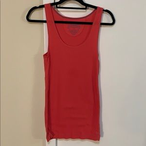 AEO coral tank top